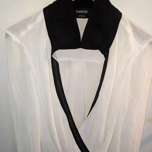 Bebe wrap blouse